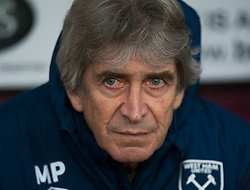 West Ham United manager Manuel Pellegrini - Mandatory by-line: Jack Phillips/JMP - 30/12/2018 - FOOTBALL - Turf Moor - Burnley, England - Burnley v West Ham United - {event}