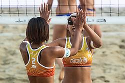 Kaho Sakaguchi of Japan at Beach Volleyball Challenge Ljubljana 2019, on August 4, 2019 in Kongresni trg, Ljubljana, Slovenia. Photo by Grega Valancic / Sportida