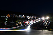 July 27-30, 2017 -  Total 24 Hours of Spa, Light trails up Eau Rouge during the 24 hours of Spa
