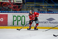01.01.2018, Ice Rink, Znojmo, CZE, EBEL, HC Orli Znojmo vs Fehervar AV 19, 35. Runde, im Bild Petr Mrazek (HC Orli Znojmo) // during the Erste Bank Icehockey League 35th round match between HC Orli Znojmo and Fehervar AV 19 at the Ice Rink in Znojmo, Czech Republic on 2018/01/01. EXPA Pictures © 2018, PhotoCredit: EXPA/ Rostislav Pfeffer