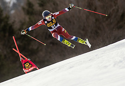 SILANTEVA Anastasiia of Russia competes during the Ladies' GiantSlalom at 56th Golden Fox event at Audi FIS Ski World Cup 2019/20, on February 15, 2020 in Podkoren, Kranjska Gora, Slovenia. Photo by Matic Ritonja / Sportida