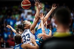 Olbis Futo Andre of Italy vs Marusa Senicar of Slovenia during basketball match between Women National teams of Italy and Slovenia in Group phase of Women's Eurobasket 2019, on June 30, 2019 in Sports Center Cair, Nis, Serbia. Photo by Vid Ponikvar / Sportida
