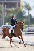 Emma Lou Becca - Wyomi<br /> European Championships Dressage 2016<br /> © DigiShots