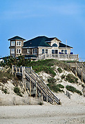 Waterfront Beach house, Nags Head, OBX, Outer Banks, North Carolina, USA.