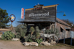 The Greenwood Dancehall and Saloon, Bluff Dale, Texas, United States of America