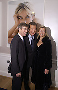 Tim Taylor, Mario Testino and Lady Helen Taylor. The private view and Laurent Perrier champagne reception for Diana, Princess Of Wales By Mario Testino at Kensington Palace, London. November 22 November 2005. ONE TIME USE ONLY - DO NOT ARCHIVE  © Copyright Photograph by Dafydd Jones 66 Stockwell Park Rd. London SW9 0DA Tel 020 7733 0108 www.dafjones.com