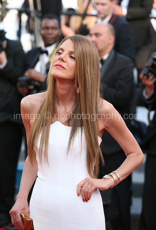 Anna Della Russo at The Paperboy gala screening red carpet at the 65th Cannes Film Festival France. Thursday 24th May 2012 in Cannes Film Festival, France.