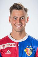 18.07.2017; Basel; Fussball Super League - FC Basel - Portrait;<br /> Dominik Schmid (Basel) <br /> (HO/Sacha Grossenbacher/freshfocus)