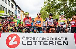 09.07.2019, Frohnleiten, AUT, Ö-Tour, Österreich Radrundfahrt, 3. Etappe, von Kirchschlag nach Frohnleiten (176,2 km), im Bild Trikots am Start // during 3rd stage from Kirchschlag to Frohnleiten (176,2 km) of the 2019 Tour of Austria. Frohnleiten, Austria on 2019/07/09. EXPA Pictures © 2019, PhotoCredit: EXPA/ Johann Groder