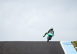 October 20, 2017 - Melbourne, Victoria, Australia - Spanish rider Joan Mir (#36) of Leopard Racing in action during the second free practice session at the 2017 Australian MotoGP at Phillip Island, Australia. (Credit Image: © Theo Karanikos via ZUMA Wire)