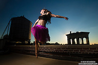 New York City Rooftop Dance As Art Photography Project- featuring dancer, Ashtyn Muzio