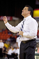 November 27th, 2010:  Anchorage, Alaska - St. John's head coach Steve Lavin during his Red Storm's 67-58 victory against the Arizona State Sun Devil's to win the championship game of the Great Alaska Shootout.