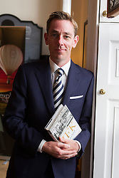 Ryan Tubridy pictured at The Little Museum of Dublin lecture series sponsored by Carmen Wines and Davy Stokebrokers.  The lecture, which was hosted by Ryan Tubridy and focused on JFK's visit to Ireland, was part of on-going series of lectures taking place at the museum in 2013. For more information visit www.littlemuseum.ie. Picture Andres Poveda