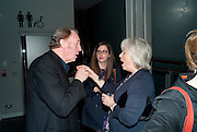 TIM PIGOTT-SMITH; ALISON STEADMAN, Enlightenment, Gala night, Hampstead Theatre, Swiss Cottage, London. 5 October 2010. -DO NOT ARCHIVE-© Copyright Photograph by Dafydd Jones. 248 Clapham Rd. London SW9 0PZ. Tel 0207 820 0771. www.dafjones.com.