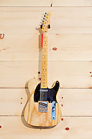 Fender birch guitar with red label