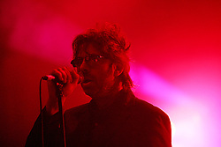 Ian McCulloch of Echo & the Bunnymen on stage at the Isle of Skye festival, 2007..Pic ©2010 Michael Schofield. All Rights Reserved..