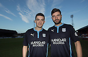 Dundee new boys Alex Harris and Kostadin Gadzhalov- <br /> <br />  - &copy; David Young - www.davidyoungphoto.co.uk - email: davidyoungphoto@gmail.com