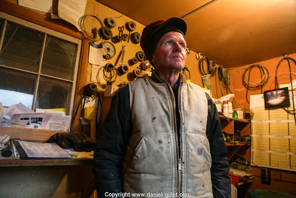 Reportage sur Jerry, eleveur de betail dans la vallee du Paradis pres de Livingston, Montana, USA// Report on Jerry, a farmer in the Paradise Valley, near Livingston, Montana, USA