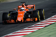 February 26, 2017: Circuit de Catalunya. Fernando Alonso (SPA), McLaren Honda,  MCL32