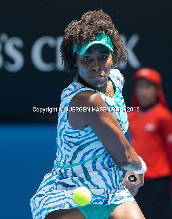 Venus Williams (USA)<br /> <br /> Tennis - Australian Open 2015 - Grand Slam ATP / WTA -  Melbourne Olympic Park - Melbourne - Victoria - Australia  - 28 January 2015.