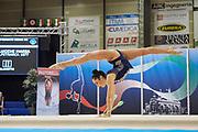 Maria Vilucchi from Petrarca team during the Italian Rhythmic Gymnastics Championship in Padova, 25 November 2017.