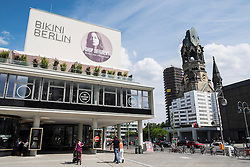 New Shopping Mall Bikini Berlin in Charlottenburg in Berlin Germany