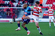Matty Blair of Doncaster Rovers during the EFL Sky Bet League 1 match between Doncaster Rovers and Wycombe Wanderers at the Keepmoat Stadium, Doncaster, England on 29 February 2020.