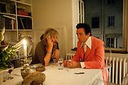 SEBASTIAN HORSLEY, Dinner at Robert and Babette Pereno's. Jermyn St. London.. 4 September 2009.