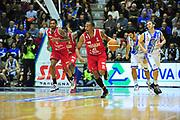 DESCRIZIONE : LegaBasket Serie A 2013-14 Dinamo Banco di Sardegna Sassari - Victoria Libertas Pesaro<br /> GIOCATORE : Elston Turner<br /> CATEGORIA : Palleggio Contropiede<br /> SQUADRA :  Victoria Libertas Pesaro<br /> EVENTO : Campionato Serie A 2013-14<br /> GARA : Dinamo Banco di Sardegna Sassari - Victoria Libertas Pesaro<br /> DATA : 02/03/2014<br /> SPORT : Pallacanestro <br /> AUTORE : Agenzia Ciamillo-Castoria / M.Turrini<br /> Galleria : Lega Basket Serie A Beko 2013-2014  <br /> Fotonotizia : LegaBasket Serie A 2013-14 Dinamo Banco di Sardegna Sassari - Victoria Libertas Pesaro<br /> Predefinita :