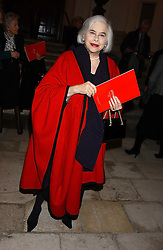 ELENA BONHAM-CARTER mother of actress Helena Bonham-Carte at Carols from Chelsea in aid of the Institute of Cancer Research at the Royal Hospital Chapel, Chelsea, London on 1st December 2005.<br />