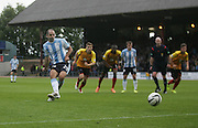 Gary Harkins penalty which was saved by Partick Thistle's Paul Gallacher - Dundee v Partick Thistle, SPFL Premiership at Dens Park<br /> <br />  - &copy; David Young - www.davidyoungphoto.co.uk - email: davidyoungphoto@gmail.com