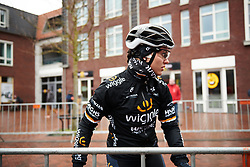 Rachele Barbieri (ITA) at Healthy Ageing Tour 2018 - Stage 2, a 102.5 km road race starting and finishing in Grootegast on April 5, 2018. Photo by Sean Robinson/Velofocus.com