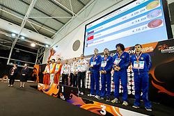 Podium CHN, RUS, UKR at 2015 IPC Swimming World Championships -  Men's 4x100m Medley Relay 34PTS