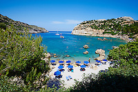 Grece, Dodecanese, Rhodes, Faliraki, Anthony Quinn bay // Greece, Dodecanese, Rhodes island, Anthony Quinn Beach