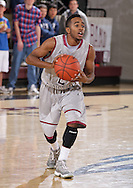 November 17, 2011: The Langston University Lions play against the Oklahoma Christian University Eagles at the Eagles Nest on the campus of Oklahoma Christian University.