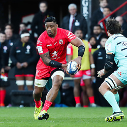 Iosefa TEKORI of Toulouse during the European Rugby Champions Cup, Pool 5 match between Toulouse and Gloucester on January 19, 2020 in Toulouse, France. (Photo by Manuel Blondeau/Icon Sport) - Stade Ernest-Wallon - Toulouse (France)