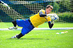 Bristol Rovers' goalkeeper, Matt Macey - Photo mandatory by-line: Dougie Allward/JMP - Tel: Mobile: 07966 386802 24/06/2013 - SPORT - FOOTBALL - Bristol -  Bristol Rovers - Pre Season Training - Npower League Two