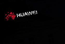 THEMENBILD - Huawei Leuchtreklame in Wien. Huawei ist ein chinesicher Technologiekonzern mit Sitz in Shenzhen. Aufgenommen am 08.03.2019 in Wien, Österreich // Illuminated advertising of Huawei Technologies Co., Ltd., which is a is a Chinese multinational telecommunications equipment and consumer electronics manufacturer, headquartered in Shenzhen. Photo taken in Vienna, Austria on 2019/03/08. EXPA Pictures © 2019, PhotoCredit: EXPA/ Michael Gruber