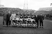 29/04/1964<br /> 04/29/1964<br /> 29 April 1964 <br /> F.A.I. Cup Final replay- Shamrock Rovers v Cork Celtic at Dalymount Park, Dublin. Rovers won the game 2-1. The Cork Celtic team.