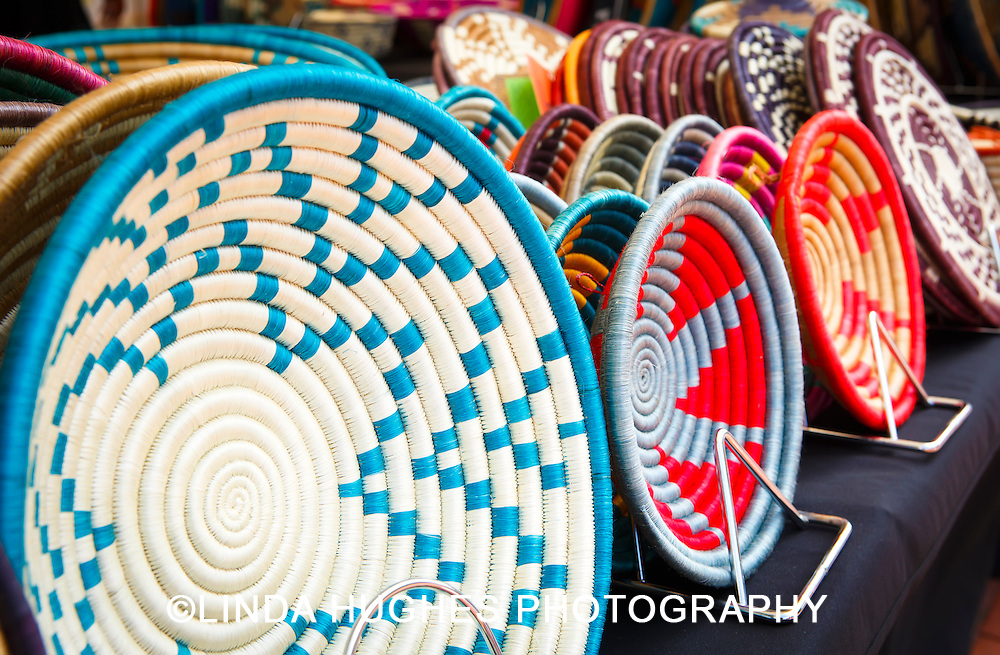 African Art Baskets