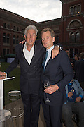 HENRY WYNDHAM; GODFREY BARKER, V & A Summer party. South Kensington. London. 22 June 2016