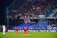 Supporters Guingamp  - 07.04.2015 -  Auxerre / Guingamp - 1/2Finale de Coupe de France<br />Photo : Dave Winter / Icon Sport