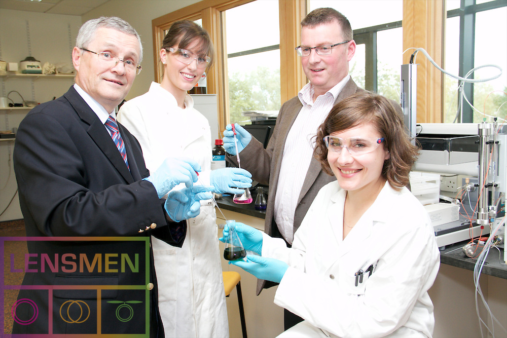 PRESS RELEASE<br /><br />TWO STUDENTS FROM UNIVERSITY COLLEGE DUBLIN RECEIVE BOC GASES POST GRADUATE BURSARY.<br /><br />In 2011 there were two BOC Gases Postgraduate Bursary&rsquo;s presented to the School of Chemistry &amp; Chemical Biology in U.C.D. and they were presented to Patricia Fleming and Anneke Kruger.<br /><br />Pictured at the event were left to right;<br /><br />Patricia Fleming from Limerick,<br />Gerry Donovan, BOC Managing Director,<br />Anneke Kruger living in south Dublin.<br /><br />Patricia Fleming who is originally from Limerick has graduated with a first class honours degree from her Bsc. in Chemistry at U.C.D.  She is currently studying towards her PhD n organic chemistry under the supervision of Prof Donal O&rsquo;Shea.  Her project is focused on the development of new synthetic methodologies within the field of organolithium chemistry.  During the course of her PhD Patricia also gained considerable experience teaching undergraduates students.<br /><br />Anneke Kruger living in south Dublin. She has completed her Bsc &amp; her Msc in Chemistry at the University of Stellonbosch in South Africa.  She began her study towards her PhD in Chemistry at the University of Fribourg in Switzerland under the supervision of Prof. Martin Albrecht and in 2009 her group relocated to Dublin and where she will complete her PhD.  Her research project is entitled &ldquo;Abnormal N-heterocyclic carbine complexes: new possibilities in bond activation processes&rdquo;.<br /><br />Speaking at the presentation ceremony in Dublin, Gerry Donovan, BOC Managing Director, said: &ldquo;We wish both Patricia &amp; Anneke every success with their future careers.  BOC Gases is well aware of the importance of research for the continuing development of the successful high technology companies which are established in Ireland.  We are delighted to play our part in support of this vital activity&rdquo;.<br /><br />BOC Gases is part of The Linde Group, a world leading gases and 