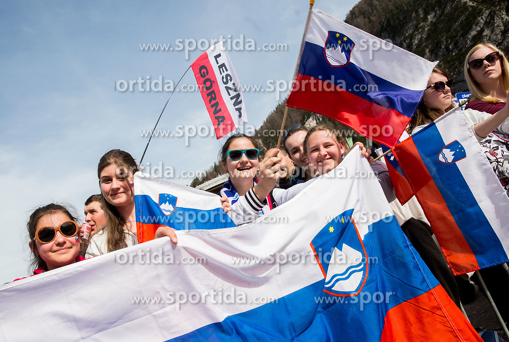Supporters during the Ski Flying Hill Individual Competition on Day Two of FIS Ski Jumping World Cup Final 2017, on March 24, 2017 in Planica, Slovenia. Photo by Vid Ponikvar / Sportida