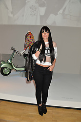 LILLY ALLEN at a VIP preview of the V&A's new exhibition 'The Glamour of Italian Fashion' - a comprehensive look at Italian Fashion from 1945-2014 held at The Victoria & Albert Museum, London on 2nd April 2014.