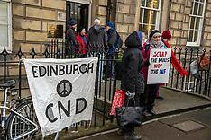 Anti-Nuclear Protest, Edinburgh, 4 February 2019