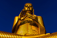 Giant Buddha statue,Golden Temple, Dambulla