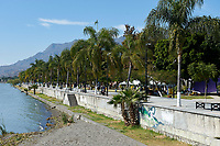 The Malecon, Lake Chapala, Ajijic, Jalisco, Mexico
