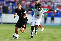 Croatia v Senegal - 8 June 2018