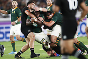 Trevor NYAKANE (RSA) during the Japan 2019 Rugby World Cup Pool B match between New Zealand and South Africa at the International Stadium Yokohama in Yokohama on September 21, 2019. Photo Kishimoto / ProSportsImages / DPPI